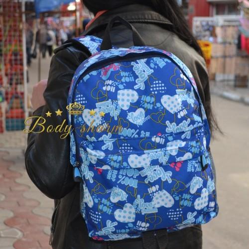 Рюкзак с сердечками