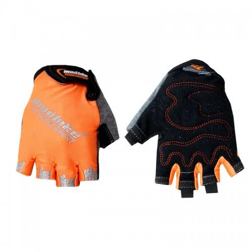 Прорезиненные спортивные перчатки madbike sk 01